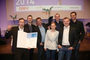 Verleihung Salzburger WirtschaftspreisFoto: Franz Neumayr    24.4.2014
